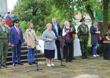 Открытие памятника Пограничникам в п. Редкино посвящённое 100-летию образования Пограничных войск